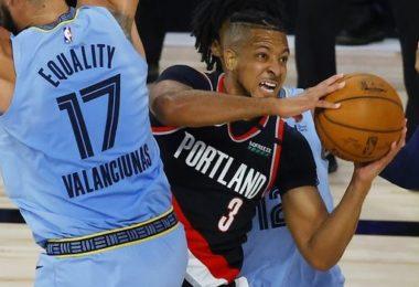 Μπλέιζερς -122: It's Portland Playoffs Time