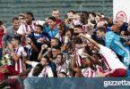 ΑΕΚ-Ολυμπιακός: Το χάρηκαν με την ψυχή τους οι Κυπελλούχοι (pics)