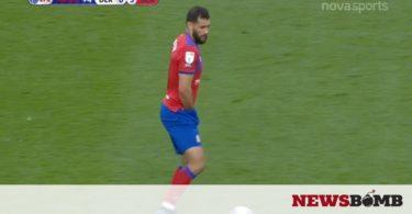 Απίστευτο: Ποδοσφαιριστής παίζει με το χέρι… μέσα στο σορτσάκι του!