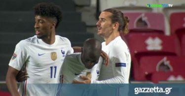 Πορτογαλία – Γαλλία: Ο Καντέ λύγισε τον ανίκητο Ρουί Πατρίσιο για το 0-1 (vid)