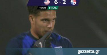 ΗΠΑ – Παναμάς 6-2: Φιλικό σόου των Αμερικανών, πρώτο γκολ του Ρέινα (vid)