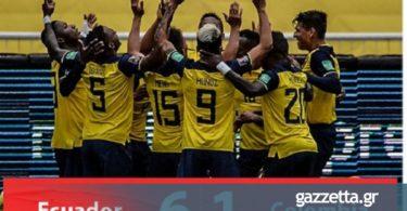 Εκουαδόρ – Κολομβία 6-1: Διασυρμός… 40ετίας της παρέας του Χάμες! (vids)