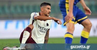 Ρόμα – Σασουόλο 0-0: Αποβολές, δοκάρι, αλλά κανένα (κανονικό) γκολ (vids)