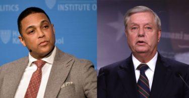 CNN's Don Lemon Calls Out  Sen. Lindsey Graham Over His