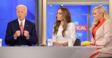 Sunny Hostin Checks Meghan McCain