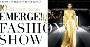 Emerge! Kicks Off Fashion Week Honoring Black Designers