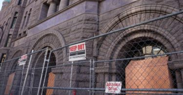 George Floyd Trial: Barbed Wire Installed Around Courthouse