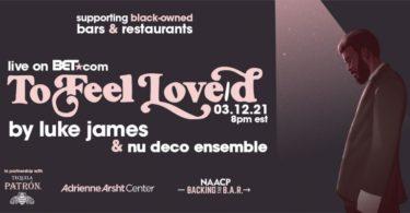 Luke James And Nu Deco Ensemble Announce Benefit Concert