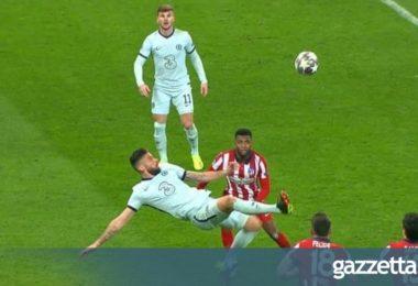 Ατλέτικο Μαδρίτης – Τσέλσι 0-1: Αγγίζει την οκτάδα με την γκολάρα του Ζιρού (vids)