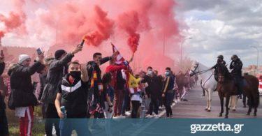 Ατλέτικο Μαδρίτης: Χαμός από 2.000 οπαδούς έξω από το «Wanda Metropolitano»! (vids)