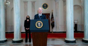 Joe Biden Addresses Nation After Derek Chauvin Verdict