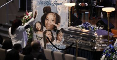 Breonna Taylor's Mother Attends Ma'Khia Bryant's Funeral