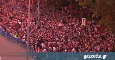 Ποιος κορονοϊός; Χιλιάδες φίλαθλοι της Ατλέτικο στους δρόμους της Μαδρίτης! (vids+pics)