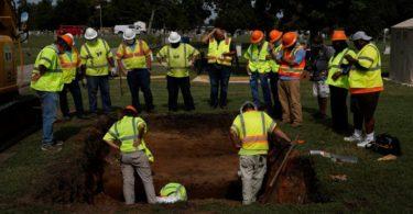 Tulsa's Oaklawn Cemetery Excavation Is Underway